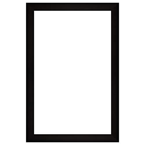 Nielsen Bainbridge Nhôm DIY Khung gương tùy chỉnh, 24x36, chải đen