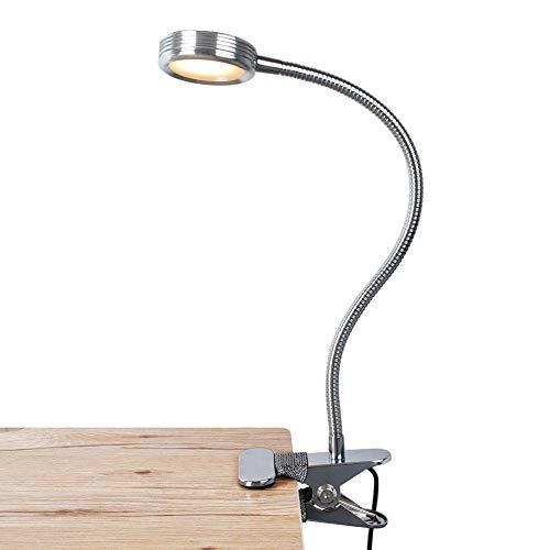 Clip LEPOWER về Ánh sáng / Clip trên Đèn / Màu sáng có thể thay đổi / Clip ánh sáng ban đêm trên bàn, Đầu giường và Máy tính (Bạc)