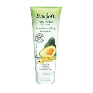 Eversoft Organic Avocado & Rice Bran Facial Cleansing Foam