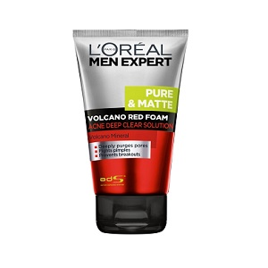 L'ealeal Men Expert Volcano Red Bọt Acne Deep Clear Solution