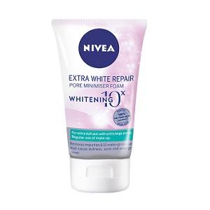 Nivea Extra White Repair Pore Minimiser Bọt
