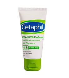 Cetaphil UVA UVB Defense SPF50 +