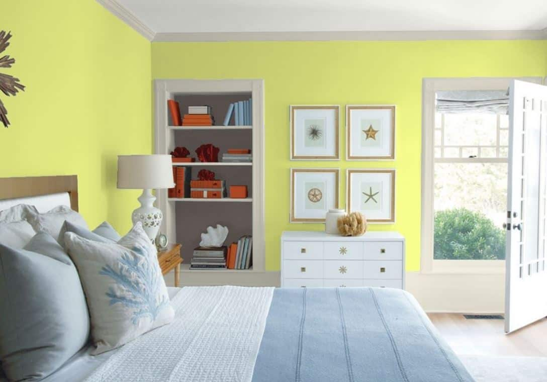 Chic Lime của Benjamin Moore