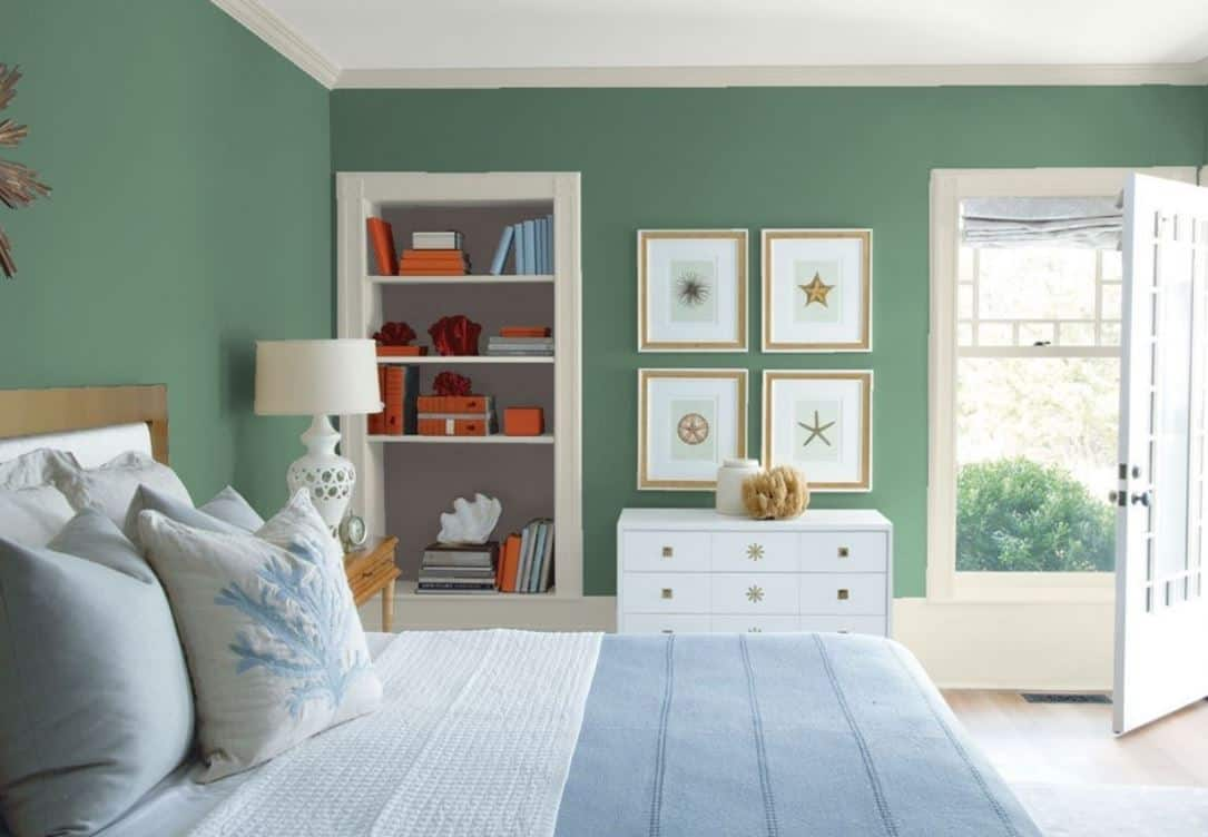 Webster Green của Benjamin Moore