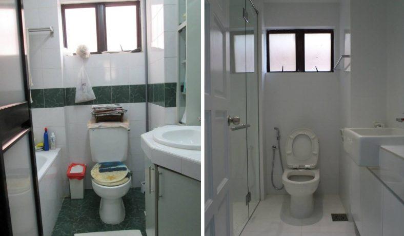 Tất cả phòng tắm màu trắng tại Chung cư Maxwell Tower Gasing height