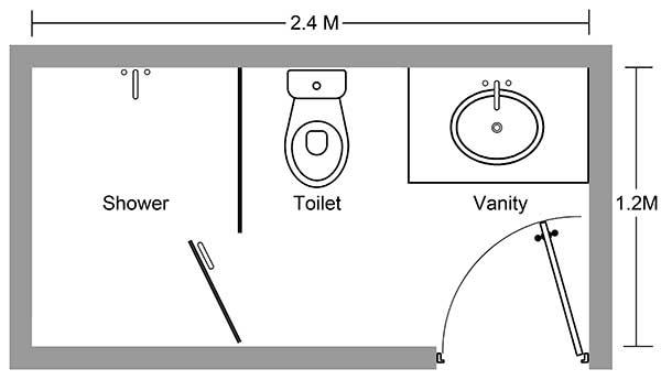 Thiết kế phòng tắm khách sạn hiệu quả hơn với vòi hoa sen