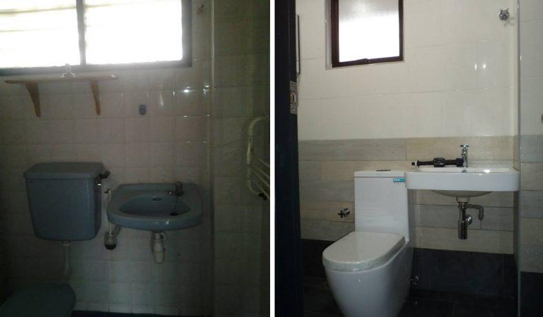 Thay thế gạch phòng tắm và đồ đạc tại USJ 3 Subang Jaya