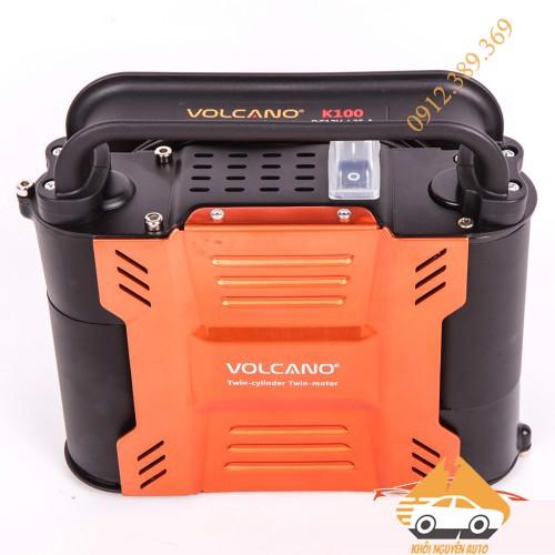 Bơm Lốp Ô TÔ 2 XI LANH 2 Động Cơ Volcano K100 – Chuyên cung Cấp Đồ ...