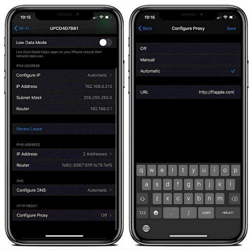 Proxy cho iOSGods để vô hiệu hóa việc thu hồi