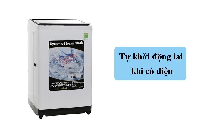 Máy giặt Hitachi 11 kg SF-110XA 220-VT (COG-W) - Tự khởi động lại khi có điện