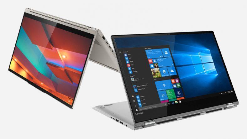 Laptop Lenovo Yoga.