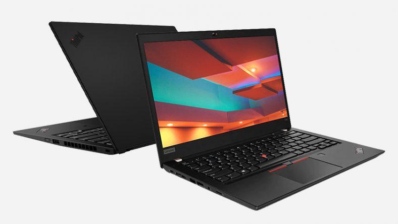 Laptop Lenovo ThinkPad.