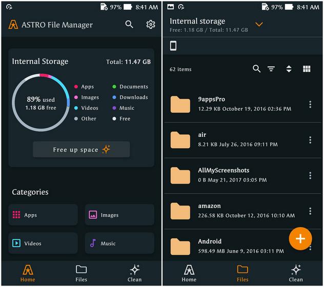 Trình quản lý tệp Astro; Ứng dụng quản lý tệp tốt nhất dành cho Android