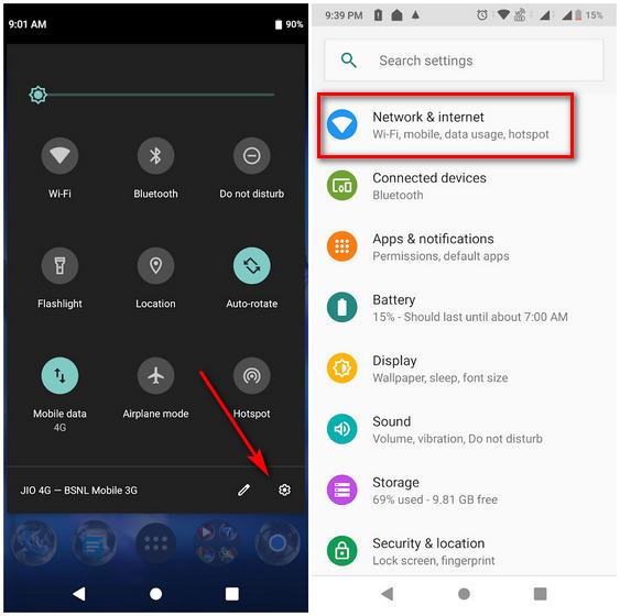 Thay đổi DNS trên Android 9 Pie và mới hơn